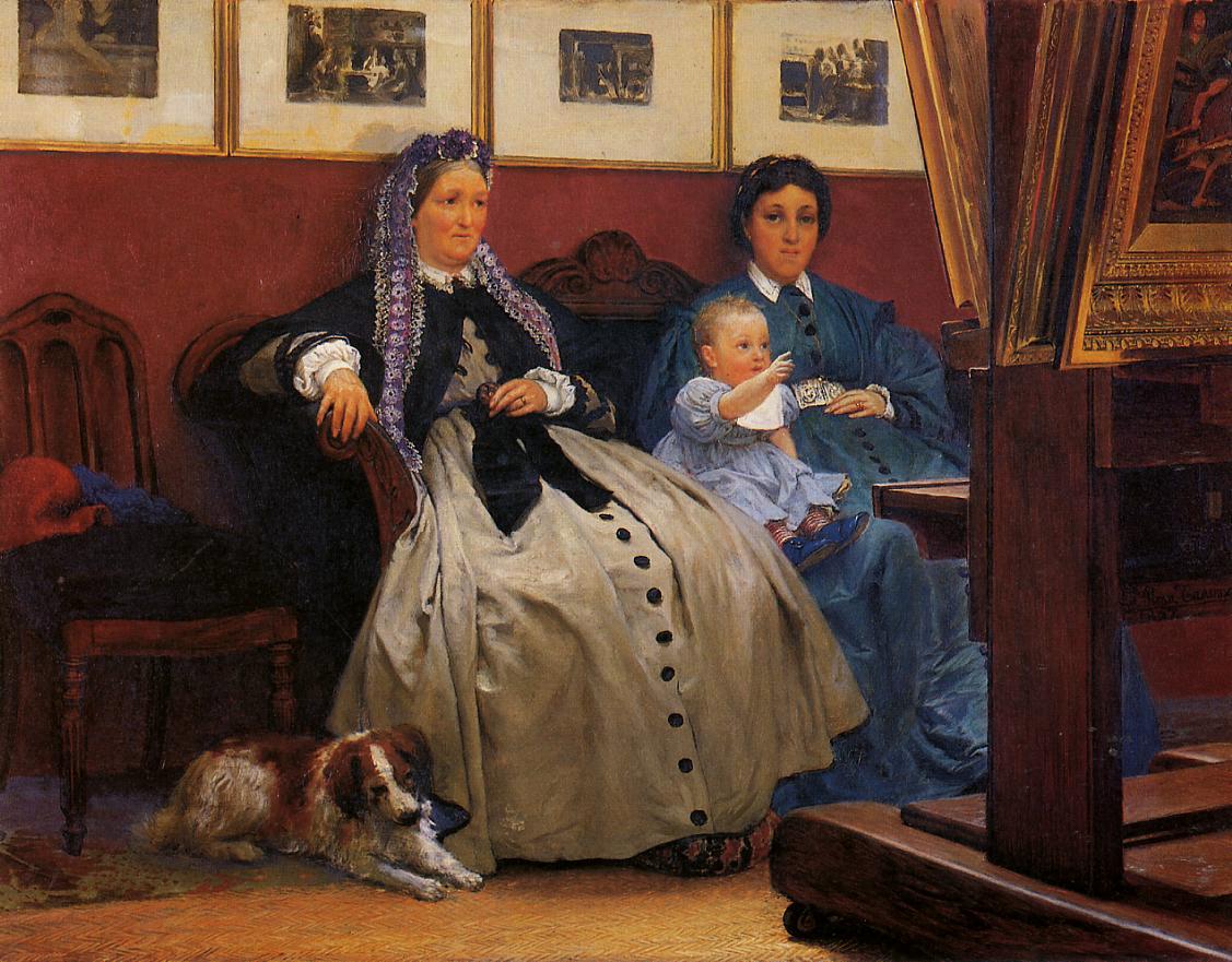 My Studio, 1867