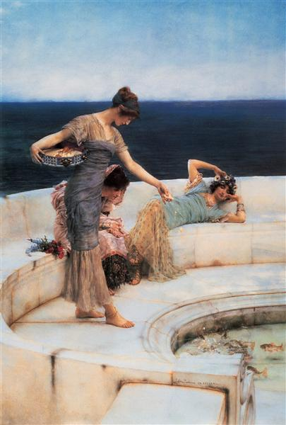 Silver Favourites, 1903 - Sir Lawrence Alma-Tadema