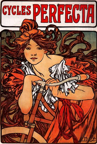 Cycles Perfecta - Alphonse Mucha