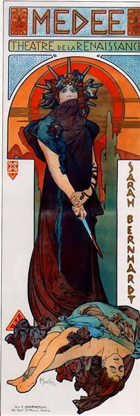 Medea, 1898 - Alphonse Mucha