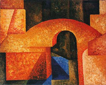 Bridge, 1914 - Amadeo de Souza-Cardoso