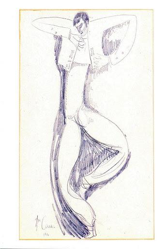 Dancer, 1910 - Amadeo de Souza-Cardoso