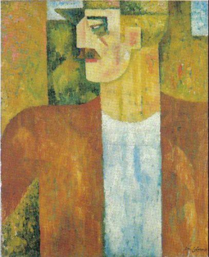 Portrait of Man, 1913 - Amadeo de Souza-Cardoso