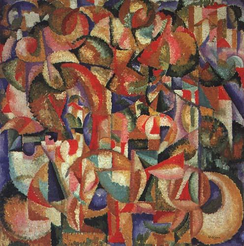 Riders, 1913 - Amadeo de Souza-Cardoso