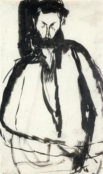 Bearded Man, 1905 - Amedeo Modigliani