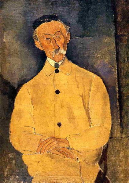 Constant Leopold, 1916 - Amedeo Modigliani