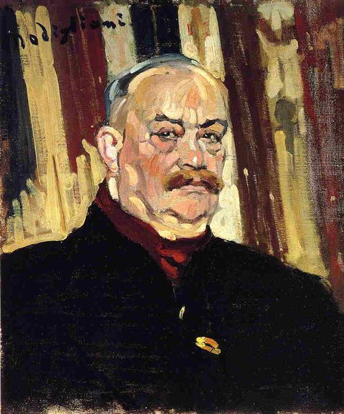Joseph Levi, 1910 - Amedeo Modigliani