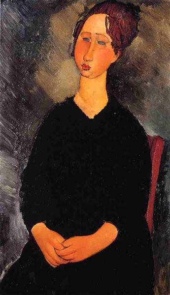 Little Serving Woman, 1919 - Amedeo Modigliani