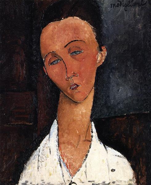 Lunia Czechowska, c.1918 - Amedeo Modigliani