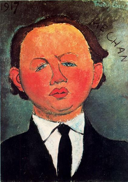 Oscar Miestchaninoff, 1917 - Amedeo Modigliani