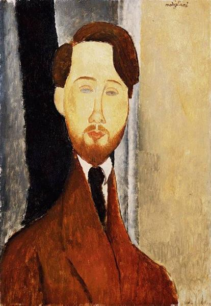 Portrait of Leopold Zborowski, 1919 - Amedeo Modigliani