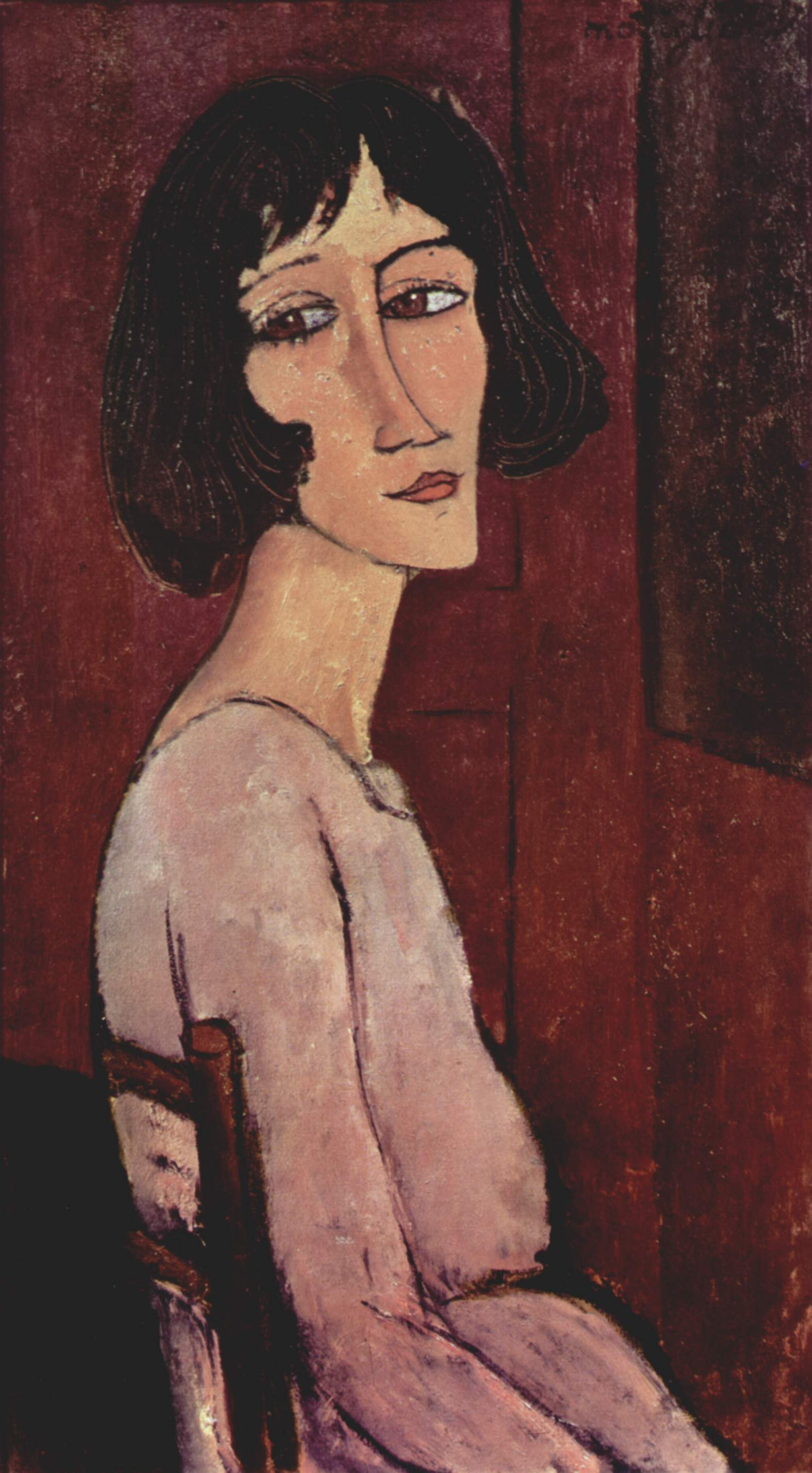Portrait Margarita Amedeo Modigliani Wikiart