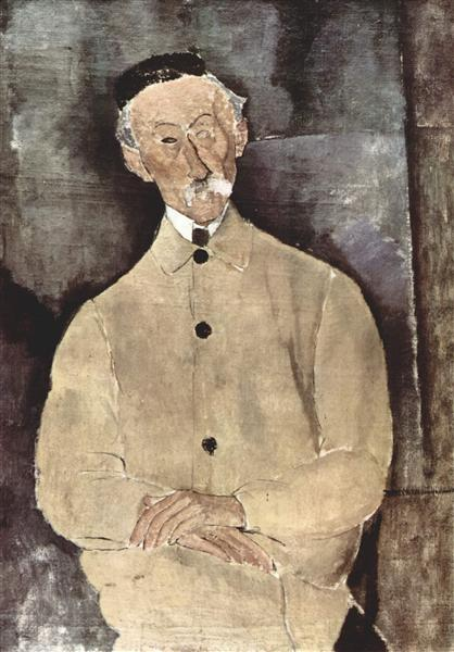 Portrait of Monsieur Lepoutre, 1916 - Amedeo Modigliani