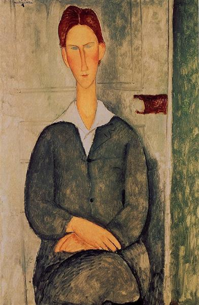 Red-haired young man, 1919 - Amedeo Modigliani