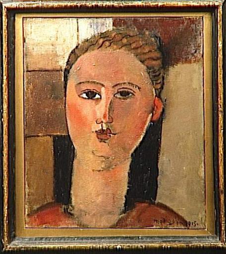 Redhead girl, 1915 - Amedeo Modigliani