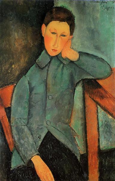 The Boy, c.1918 - Amedeo Modigliani
