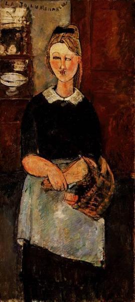 The Pretty Housewife, 1915 - Amedeo Modigliani