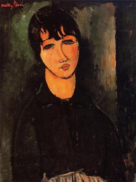 The Servant, 1916 - Амедео Модільяні