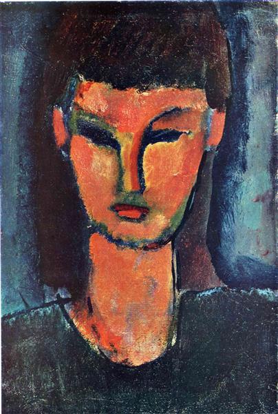 Young Woman, 1910 - Amedeo Modigliani