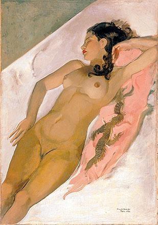Sleeping woman, 1933 - Amrita Sher-Gil