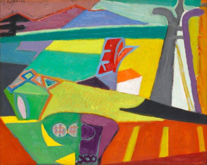 L'Atelier sur la terrasse de Mirmande, 1957 - André Lhote