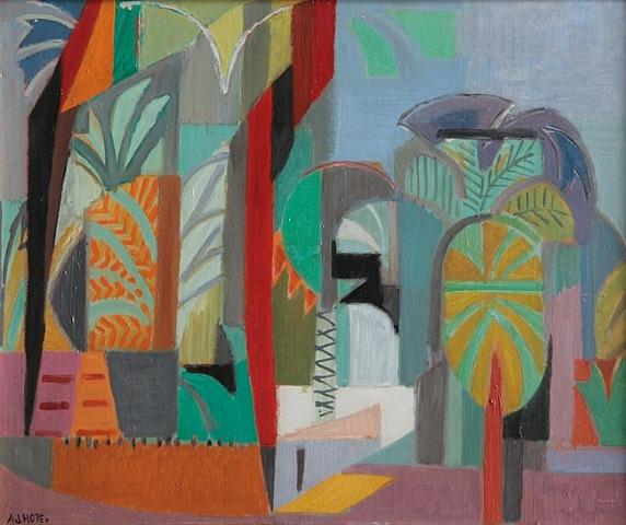 Les Palmiers à Thèbes, 1950 - André Lhote