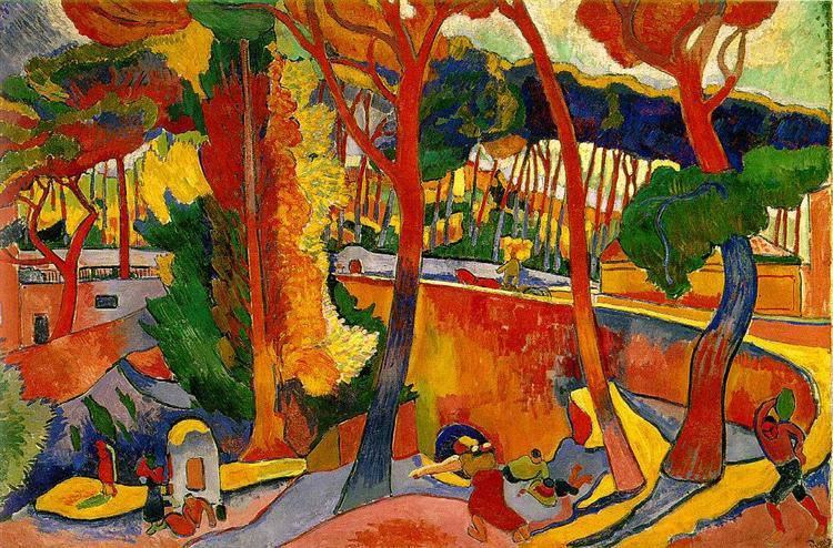 Estaque, 1905 - Andre Derain