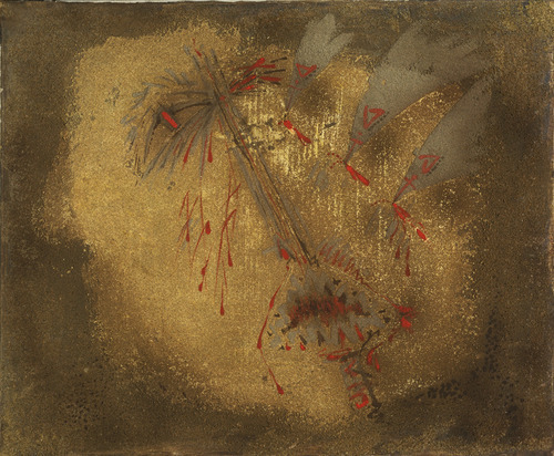 Attacked by birds, 1956 - Andre Masson