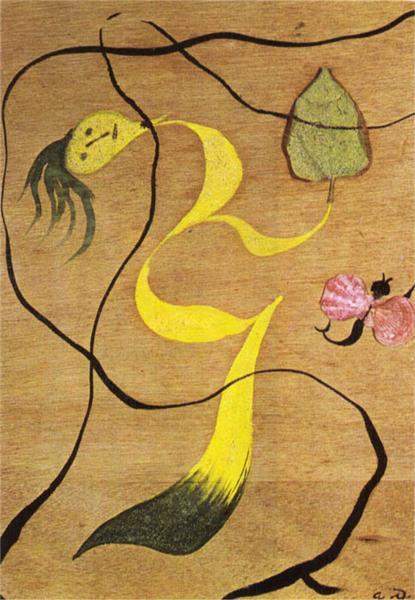 Dark Forest, 1937 - Andre Masson
