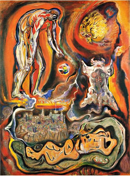 Iconic views of Toledo - Andre Masson