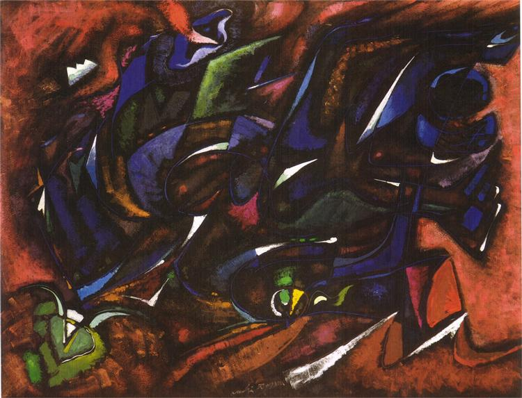 Nuit fertile, 1960 - André Masson