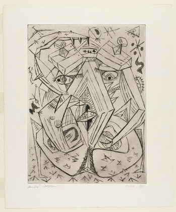 The Sand Crab, 1942 - André Masson