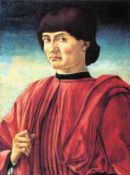 Portrait of a Gentleman - Andrea del Castagno