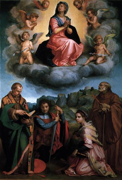 Assumption of the Virgin, 1530 - Andrea del Sarto