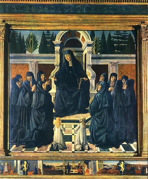 Saint Monica, 1470 - 1475 - Andrea del Verrocchio