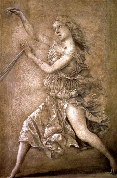 Muse, 1497 - Andrea Mantegna