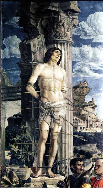 San Sebastian, 1480 - Andrea Mantegna