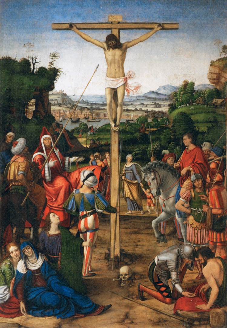 The Crucified Lovers: The Crucifixion, 1503