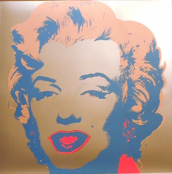 Marilyn Monroe, 1968 - Andy Warhol