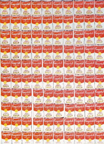 100 Cans, 1962 - Andy Warhol