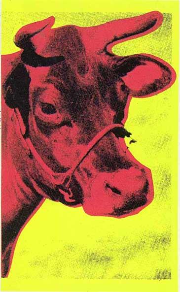 Cow, 1966 - Andy Warhol