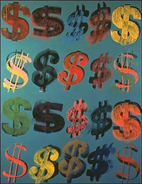 Dollar Sign, 1981 - Andy Warhol