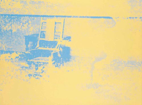Electric Chair  - Andy Warhol
