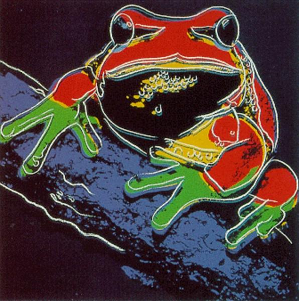 Pine Barren Tree Frog II.294 (From Endangered Species Suite), 1983 - Andy Warhol