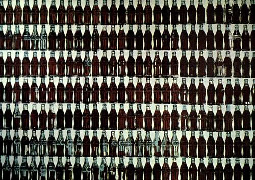 Green Coca-Cola Bottles - Andy Warhol