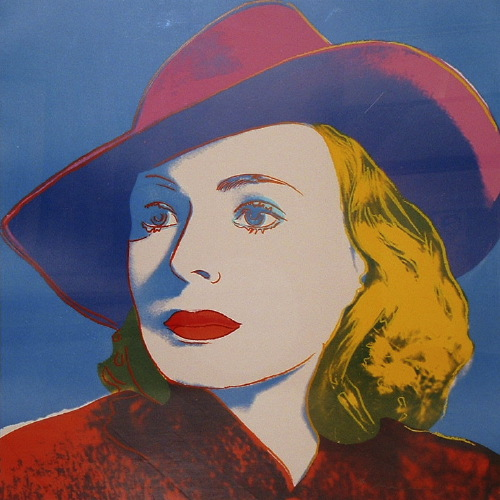 Ingrid Bergman With Hat, 1983 - Andy Warhol
