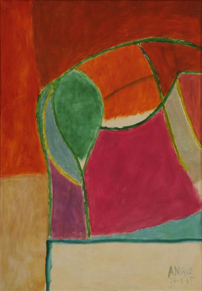 unknown title, 1965 - Angelo de Sousa