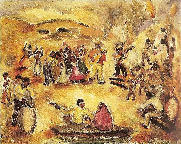 Samba, 1945 - Anita Malfatti