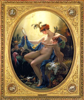 Mademoiselle Lange as Danaë, 1799 - Anne-Louis Girodet de Roussy-Trioson