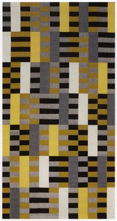 Black-White-Yellow, 1926 - Anni Albers